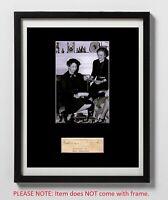 Malvina Thompson Autographed Mat Piece! First Lady Eleanor Roosevelt Secretary!