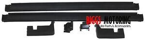 2007-2013 Chevy Avalanche Left & Right Rear Interior Gutter Guard Trims 15090198