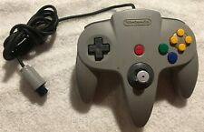 OEM Nintendo 64 (NUS-005) Controller - Original Gray, CLEANED AND TESTED