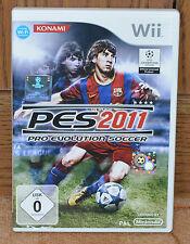 PES Pro Evolution Soccer 2011 (Nintendo Wii, DVD-Box)