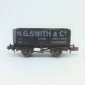 Dapol N Gauge H. G. Smith 7 Plank Wagon Weathered - Simply Southern Limited Ed