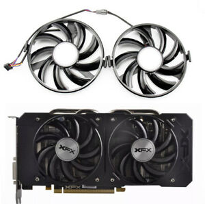 For Radeon XFX R9 380 X R7 350 360 370 Cooling Fan FY09010H12LPB FDC10H12S9-C