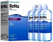 Renu MPS Contact Lens Solution Bausch and Lomb (3 Months) 3 x 240ml Sensitive