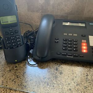 SIEMENS Gigaset 2420 Desk Station Phone And Wireless Phone S39883 Y-1A302 Tested