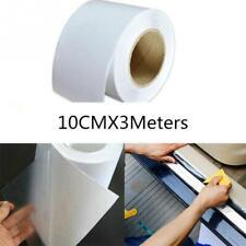 Rotolo pellicola protettiva trasparente 10cmX3m porte sportelli auto urti graffi
