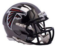 Atlanta Falcons Riddell Speed Mini Helmet - Chrome Alternate