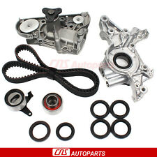 Fits 88-96 Mazda Mercury Ford 1.6L 1.8L B6ZE BP Timing Belt Water Oil Pump Kit