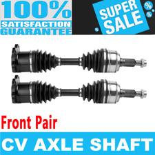 Front 2x CV Drive Axle Shaft for GMC K1500 K2500 YUKON XL 1500