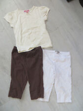 lot 4 ans : 2 leggings + 1 t-shirt Orchestra