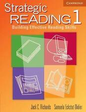 Strategic Reading 1 Student's book: Building Effective Reading Skills (Strategic