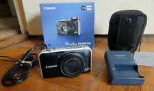 CANON POWER SHOT SX230HS WITH CABLE, CHARGER, BATTERY, 4GB CARD, CASE