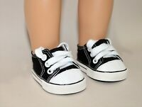 Fits Our Generation American Girl Doll Journey 18 Dolls Black Runners Sneakers