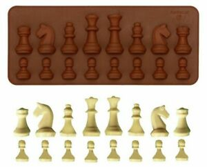 Silicone Mould For Chocolate / Candy & Crafts- Chess Pieces