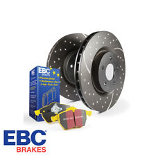 EBC Brakes Rear Brake Disc & Pad Kit Seat Leon 1P 2.0 TFSi Cupra - PD13KR036