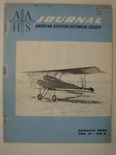 AAHS Journal Summer 1966 (Fokker F-32, Early Curtiss Aircraft Engines, Jupiter)