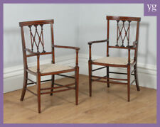 Mahogany Edwardian Antique Chairs
