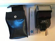 Minolta  2800AF Shoe Mount Flash for  X-700 X-370  with case manual