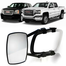 CLIP-ON TOWING MIRROR tow extension extend side rear view hauling for g m