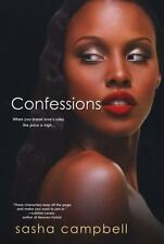 Confessions by Sasha Campbell NEW PAPERBACK TRADE, SEXY, SUSPENSE,LOVE, HOT