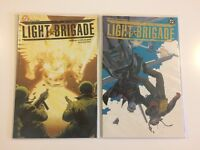 Lot of 2 Light Brigade #1 2 DC Comics 2004 VF