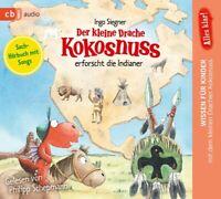 PHILIPP SCHEPMANN - DER KLEINE DRACHE KOKOSNUSS-ERFORSCHT DIE INDIANER   CD NEU