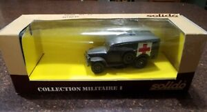 "1983? Solido Dodge WC 54 #6043 with US decals ""COLLECTION MILITAIRE I"""