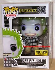 FUNKO POP 2016 MOVIES BEETLEJUICE #362 Hot Topic Mystery Figure IN STOCK