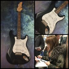GFA Rilo Kiley Rock Star * JENNY LEWIS * Signed Electric Guitar PROOF J1 COA