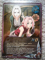 Naruto CCG TCG Sakura Haruno & Tsunade Super Rare Card N-685 NM/M