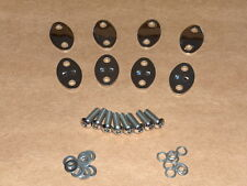 Norton STAINLESS Rocker Spindle Cover Kit COMPLETE w/bolts 750 850 Commando