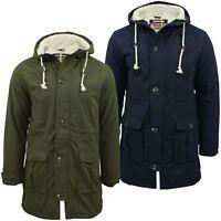 Mens Parka Jacket Tokyo Laundry 'Braxton' Fishtail Snorkel Hoodie Hooded Coat