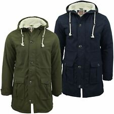 Mens Parka Jacket Tokyo Laundry 'Braxton' Fishtail Snorkel Hoodie Hooded Coat