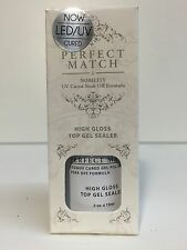 LeChat Perfect match Soak off Gel Polish Top Coat Sealer 1/2 oz /15 ml