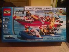 LEGO City 60005 Fire Boat NEW Retired Walmart Exclusive