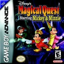 Disney's Magical Quest Starring Mickey & Minnie - Game Boy Advance GBA Game