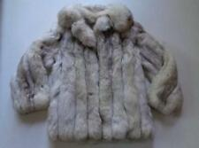 Minerva Evans Azurene Blue Gray Mink Fur Coat Jacket See Measurements Approx M