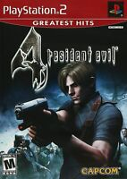 Resident Evil 4 (PlayStation 2, 2005) GREATEST HITS, COMPLETE W/ MANUAL