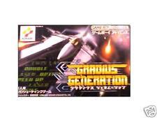 Gradius Nintendo Gameboy Advance GBA Import Japan