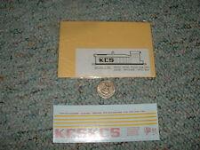 Miller Herald King decals HO L-181 KCS white diesel road cab disel switcher G136