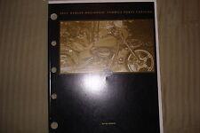 Harley Davidson 2001 FXDWG2 Parts Catalog