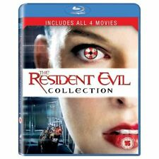 The Resident Evil Collection All 4 Films Blu-ray Region Free 5050629519716 JF
