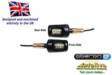"Oberon Performance Bar End LED indicators/winkers 1""/22mm ID - IND-0022-BLACK"