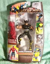 "Target exclusive WOLVERINE variant black Red Hulk series Marvel Legends""6 figure"