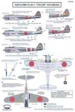 Berna Decals 1/48 NAKAJIMA Ki-43-I HAYABUSA OSCAR Japanese Fighter