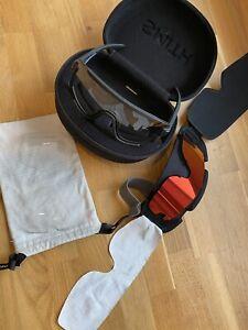 Smith Wildcat Mountain Bike Glasses Black Clear ChromaPop Enduro