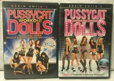 2 Pussycat Dolls burlesque dancing exercise fit workout DVD lot Dancer's body