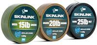 New Nash Tackle Skinlink Semi Stiff Coated Hooklink All Colours/Breaking Strains
