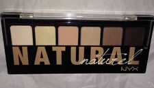 NYX Eyeshadow 6 Shadow Palette TNS01 *THE NATURAL* Naturel Nude Neutral Brown BN
