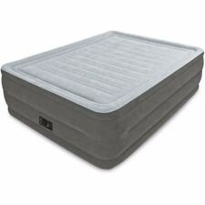 Airbed Mattress  Built-in Pump Camping Inflatable Bed High Rise Queen
