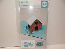 POP UP GINGERBREAD HOUSE DIE CARD MAKING HOLIDAY PAPER CRAFTING WE R